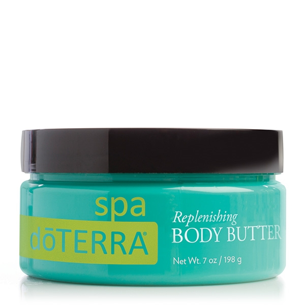 dōTERRA® SPA Replenishing Body Butter / Восстанавливающее масло для тела, 198 г