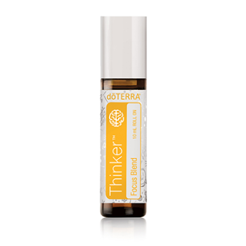 "dōTERRA Kids Thinker™ 10 ml / ""Мыслитель"", смесь эфирных масел в роллере, 10 мл"