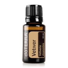 VETIVER ESSENTIAL OIL / Ветивер (Vetiveria zizanioides), эфирное масло, 15 мл