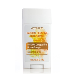 Natural Sensitive Deodorant Douglas Fir & Greek Orange / Натуральный нежный...