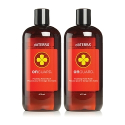 dōTERRA ON GUARD® FOAMING HAND WASH (TWIN PACK REFILL) / Мыло для рук «На страже»,...